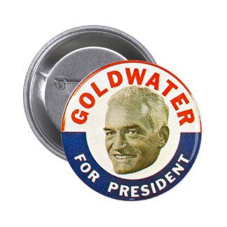Goldwater - botón pin