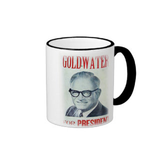 Goldwater for President Ringer Coffee Mug