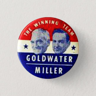 Goldwater-Miller jugate - Button
