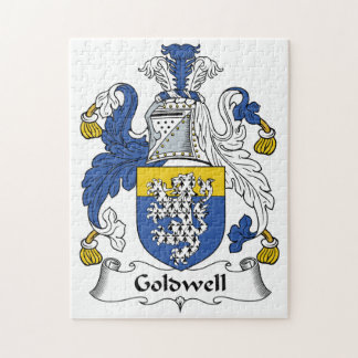 Goldwell Family Crest Jigsaw Puzzles
