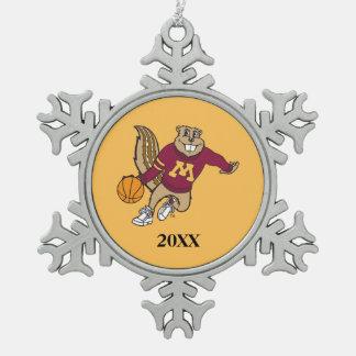 Goldy Basketball 3 Ornament