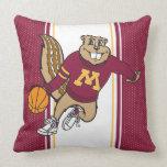 Goldy Basketball Pillows