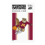 Goldy Basketball Stamp