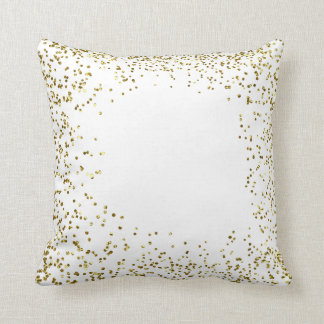 goldy conffetti throw pillow