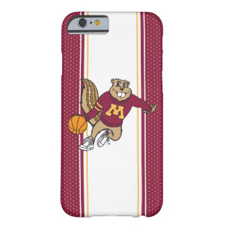 Goldy Gopher Basketball Barely There iPhone 6 Case