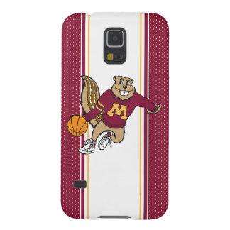 Goldy Gopher Basketball Galaxy S5 Case