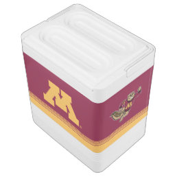 Goldy Gopher Cooler