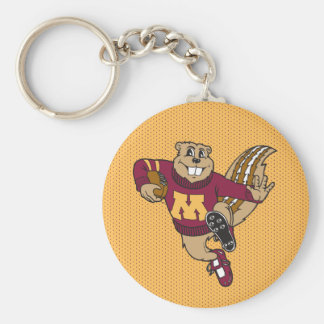 Goldy Gopher Football - Heisman Pose Keychain