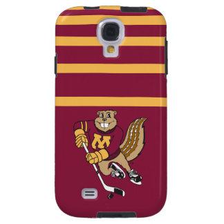 Goldy Gopher Hockey Galaxy S4 Case