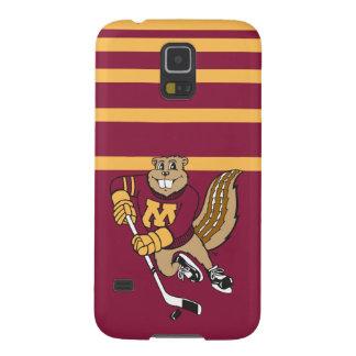 Goldy Gopher Hockey Galaxy S5 Case
