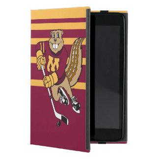 Goldy Gopher Hockey iPad Mini Case