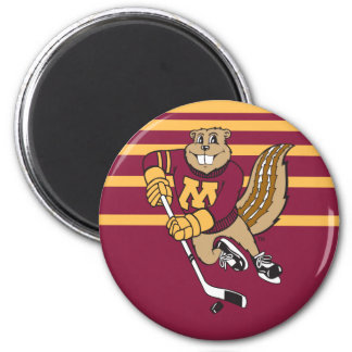 Goldy Gopher Hockey Magnet