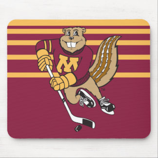 Goldy Gopher Hockey Mouse Pad
