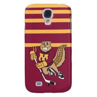 Goldy Gopher Hockey Samsung Galaxy S4 Case