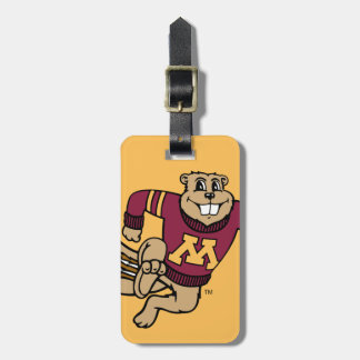 Goldy Gopher Tags For Luggage