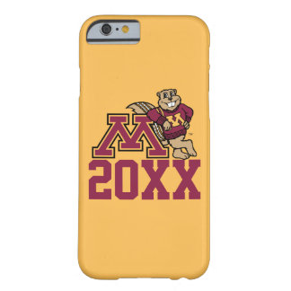 Goldy Gopher M with Class Year Barely There iPhone 6 Case