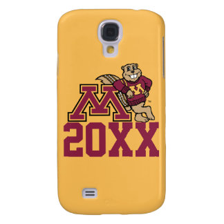 Goldy Gopher M with Class Year Samsung Galaxy S4 Case