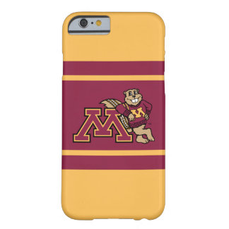 Goldy Gopher & Minnesota M Barely There iPhone 6 Case