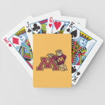 Goldy Gopher & Minnesota M Bicycle Playing Cards