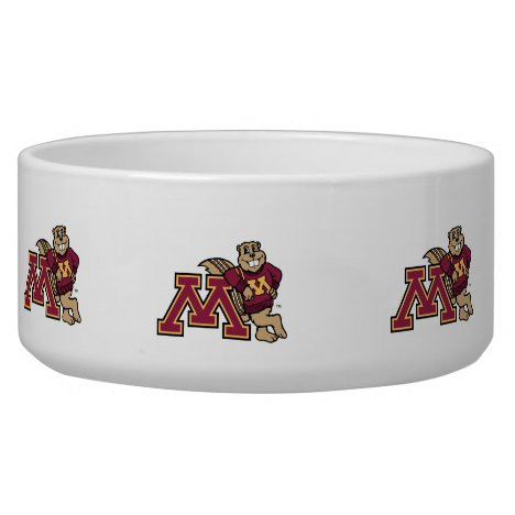 Goldy Gopher & Minnesota M Bowl