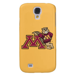 Goldy Gopher & Minnesota M Galaxy S4 Cover