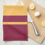 """Goldy Gopher &amp; Minnesota M Kitchen Towel<br><div class=""""desc"""">Show off your University of Minnesota athletics pride! Get your Goldy the Gopher gear here. Personalize your own Minnesota merchandise on Zazzle.com with your name or class year. Try adding text using various fonts &amp; view a preview of your design!</div>"""