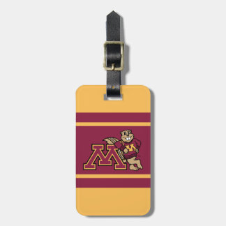 Goldy Gopher & Minnesota M Luggage Tag