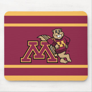 Goldy Gopher & Minnesota M Mouse Pad