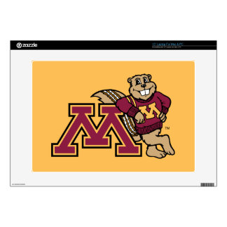 Goldy Gopher & Minnesota M Skin For Laptop