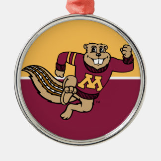 Goldy Gopher Christmas Ornaments