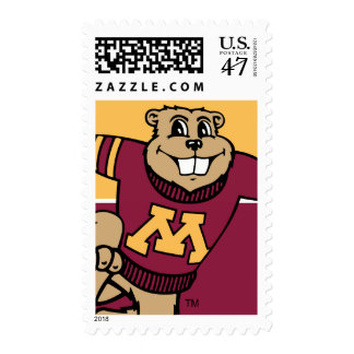 Goldy Gopher Postage