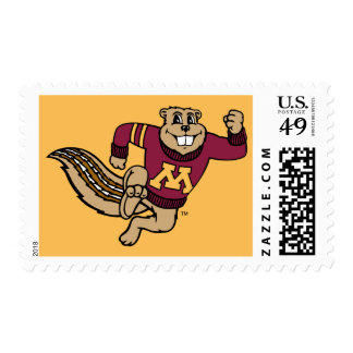 Goldy Gopher Postage Stamp