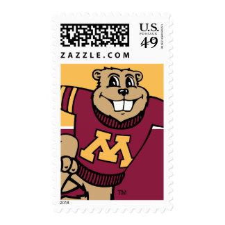 Goldy Gopher Stamp