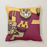 Goldy Gopher Throw Pillows