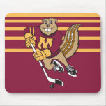 Goldy Hockey Mouse Pads