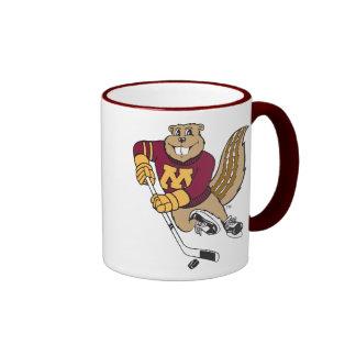 Goldy Hockey Coffee Mugs