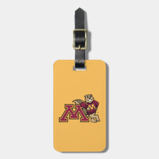Goldy & Minnesota M Tags For Luggage