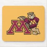 Goldy & Minnesota M Mousepads