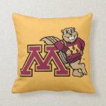Goldy & Minnesota M Pillow