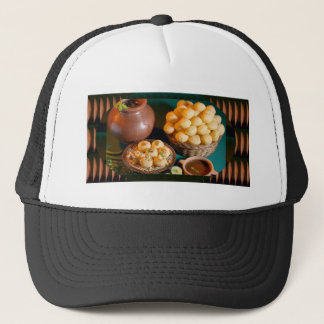 GOLE GAPPAY Panni Puri Indian Cuisine Snack Trucker Hat