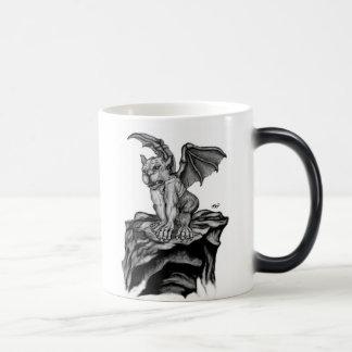 Golem pequeño - Gargoyle negro sabe diseño Taza Mágica