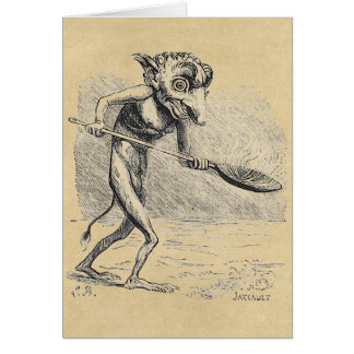 Golem Stirs the Cauldron Card