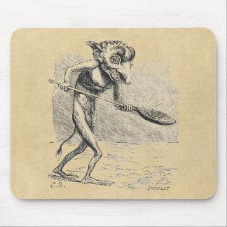 Golem Stirs the Cauldron Mouse Pad
