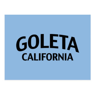 Goleta California Postcard