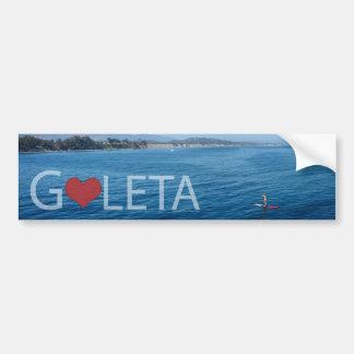 Goleta Paddle Boarding Bumper Sticker