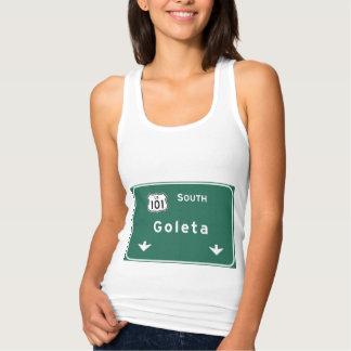 Goleta US-101 South Interstate California Ca - Tank Top