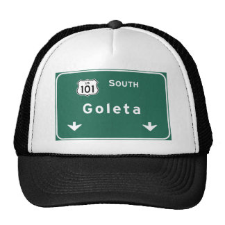 Goleta US-101 South Interstate California Ca - Trucker Hat