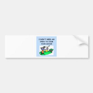 GOLF2.png Car Bumper Sticker