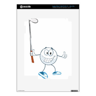 golf3 decal for iPad 3