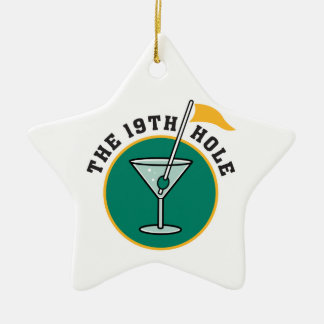 golf 19th hole drink time humor christmas tree ornaments